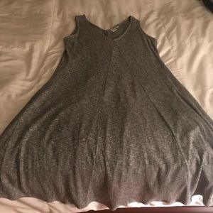 Sleeveless fall dress
